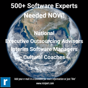 500+ Advisors, Managers & Coached needed