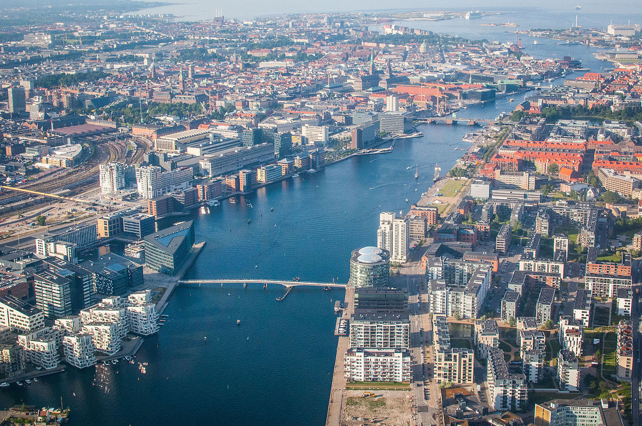 Copenhagen from above