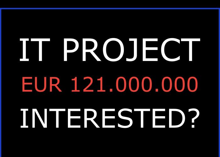 IT Project EUR 121.000.000