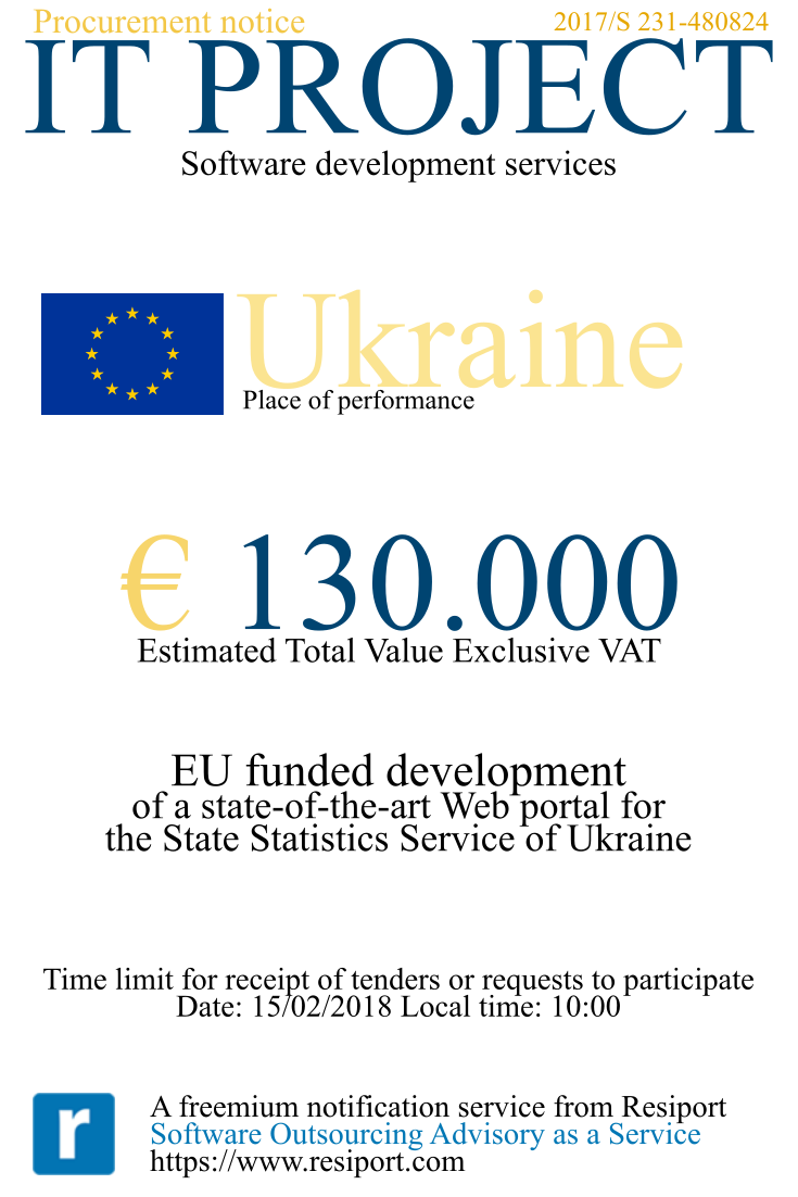 EU Tender Ukraine