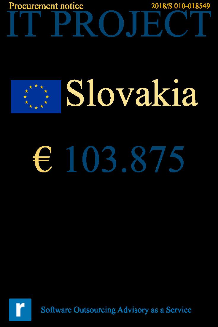 EU tender notification