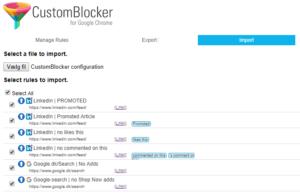 Configuration file for CustomBlocker